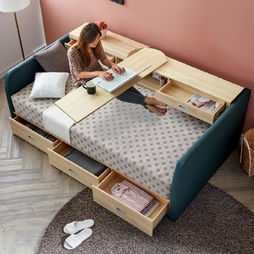 屋企細細就更要善用空間,一物多用嘅變形傢俬就啱晒。
